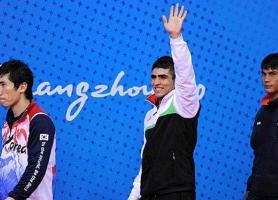 محمدسیفی مدال برنز خود در مسابقات ووشو را قطعی کرد