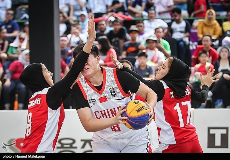 جام جهانی بسکتبال سه نفره، تیم بانوان ایران از دور رقابت ها کنار رفت