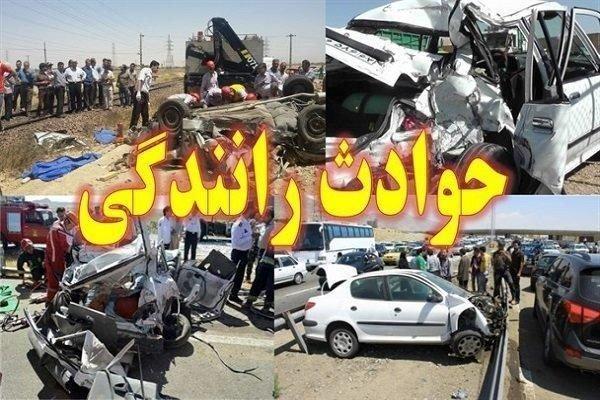 یک کشته و 5 مجروح بر اثر حادثه رانندگی در زاهدان