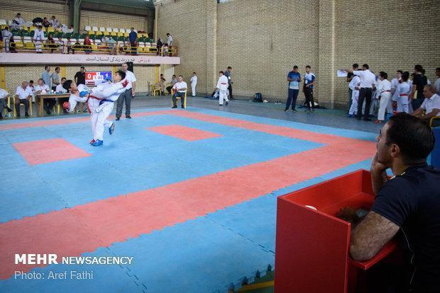 مسابقات کاراته در چهارمحال و بختیاری برگزار گردید