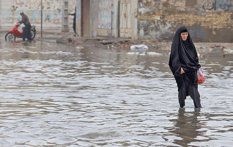 چهار شهرستان خوزستان درگیر سیلاب است