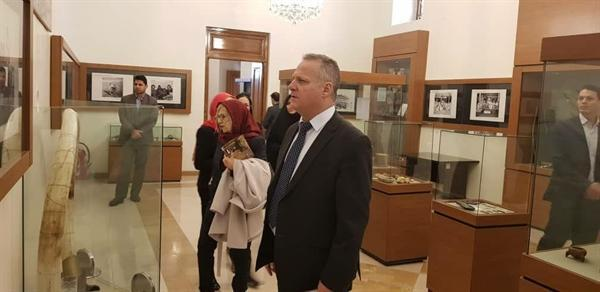 بازدید وزیر آموزش و فرهنگ جمهوری قبرس از مجموعه سعدآباد