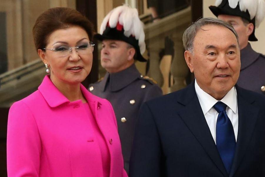 دختر نظربایف رئیس مجلس سنای قزاقستان شد