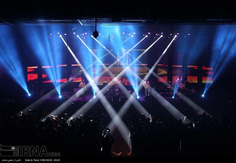 برنامه کنسرت های پایتخت