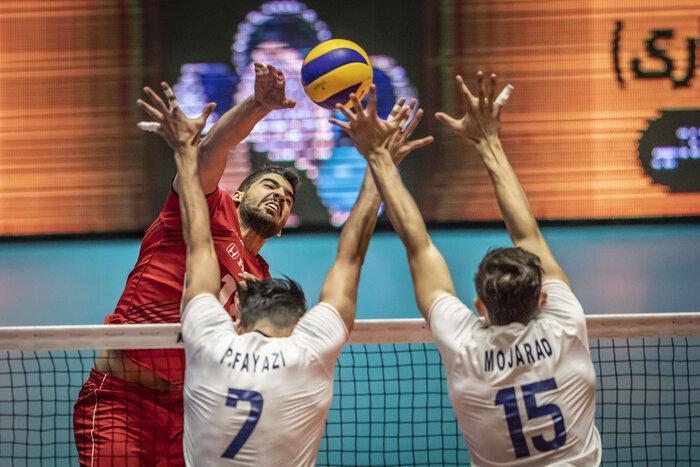 پیروزی سخت والیبال ، ایران 3 - پرتغال 1