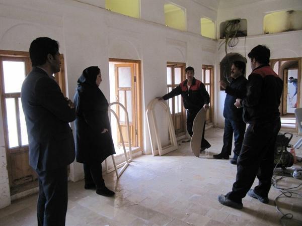 عملیات اجرای طرح محتوای خانه موزه قرایی رشتخوار شروع شد