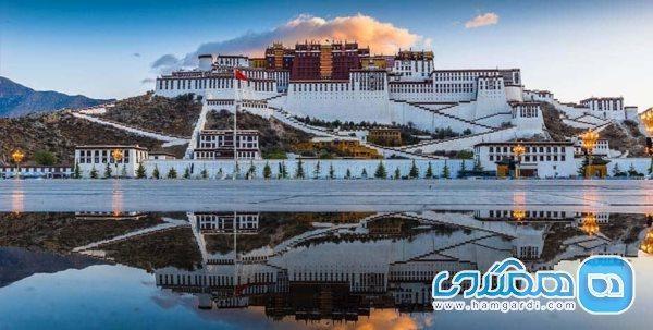 بلندترین قصر دنیا در تبت