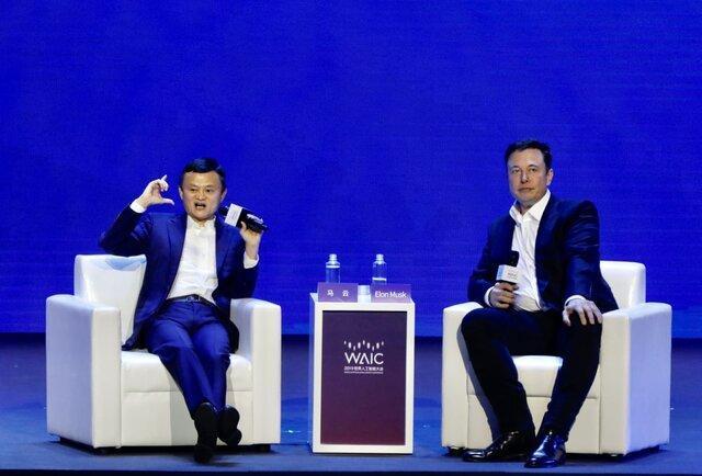 مناظره ایلان ماسک و جک ما در کنفرانس هوش مصنوعی 2019