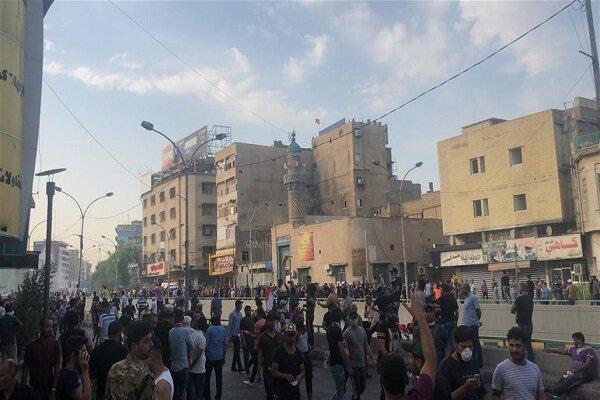 یک کشته و 200 زخمی در تظاهرات روز سه شنبه عراق