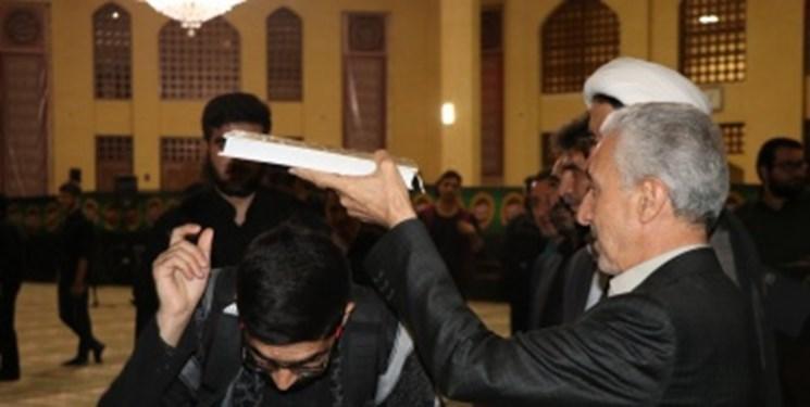 امیدوارم چراغ راه امام حسین (ع) راهنمای تمام مسلمانان و جوانان باشد