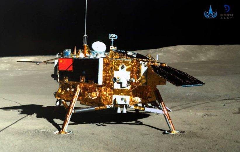 مروری بر دهمین روز فعالیت فضاپیمای چانگ ای 4 در سطح ماه