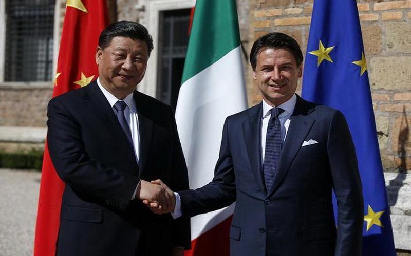 ایتالیا و چین تفاهمنامه جاده ابریشم جدید را امضا کردند