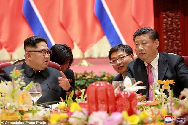 هیئت کره شمالی راهی چین شد