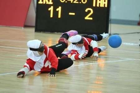 تیم گلبال دختران ایران به نقره بسنده کرد