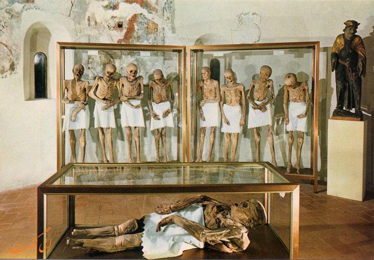 کشف این مومیایی های ایتالیا جهان را در حیرت فرو برد