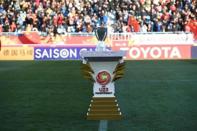 برنامه کامل قهرمانی فوتبال زیر 23 سال آسیا و انتخابی المپیک