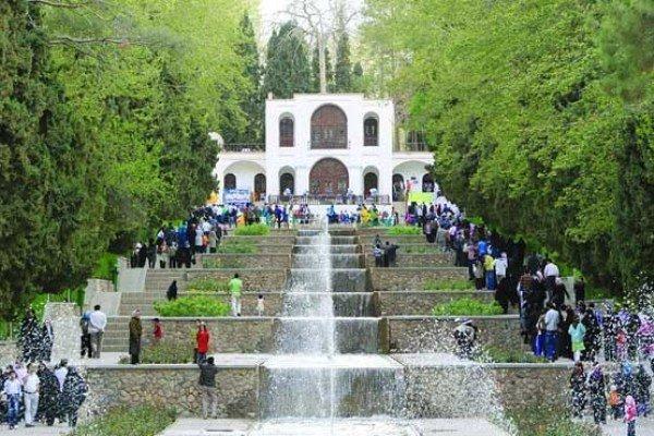 سرسبزی و زیبایی باغ شاهزاده کرمان