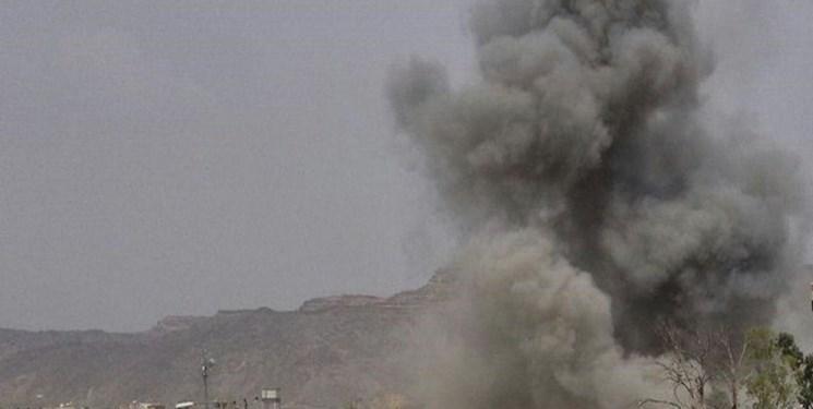 حمله موشکی و توپخانه ای عربستان سعودی به شمال یمن