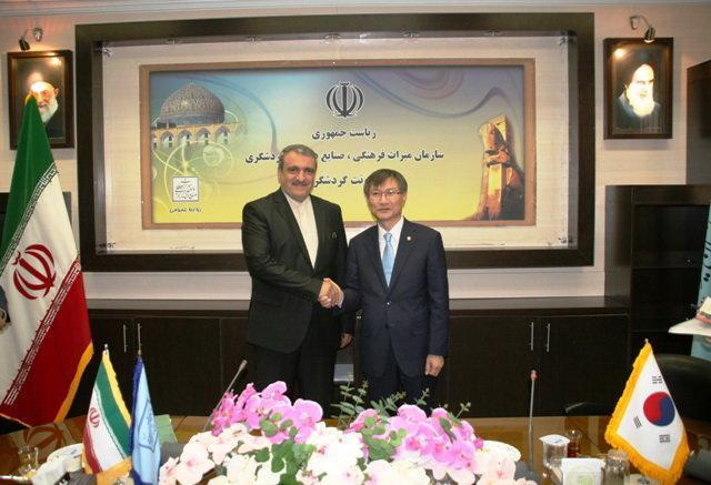 5 هزار گردشگر سالانه از کره جنوبی به ایران می آیند