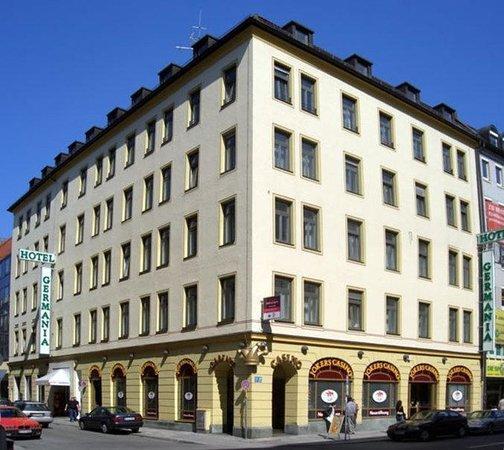 اقامت در هتل رویایی جرمنیای مونیخ