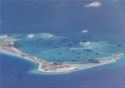 برگزاری مانور نظامی در دریای جنوبی چین