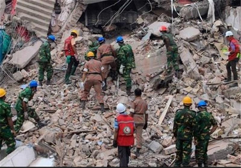 کارگران خشمگین بنگلادشی خواهان اعدام مسببین اصلی ریزش ساختمان داکا شدند