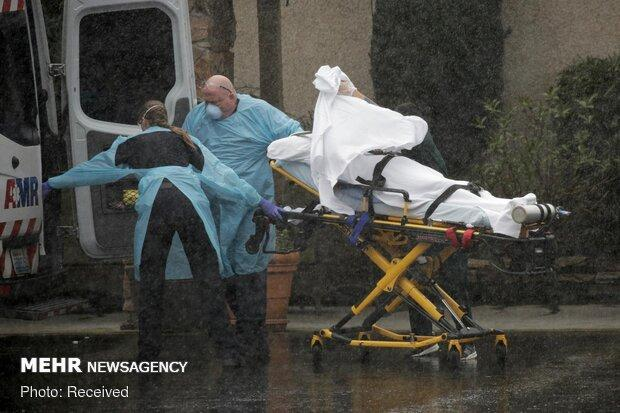 قربانیان کرونا در آمریکا به 250 نفر رسید، بیش از 19 هزار مبتلا