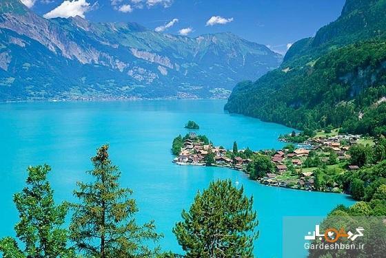 دریاچه برینز؛الماس آبی سوئیس، عکس