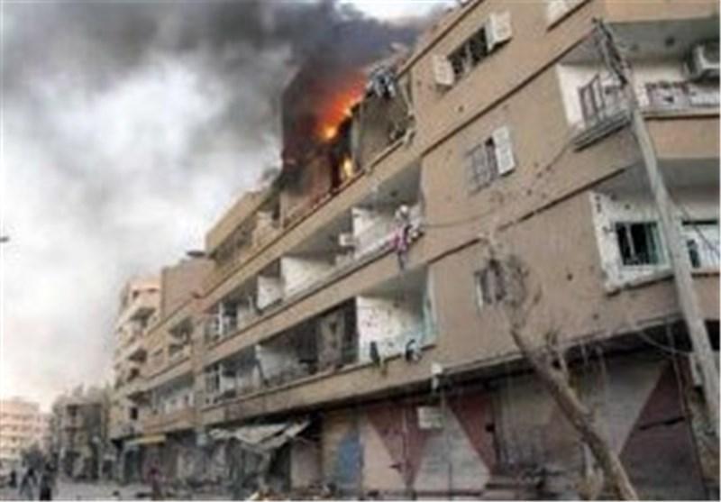 اصابت خمپاره به منطقه المدیان دمشق 8 زخمی برجای گذاشت