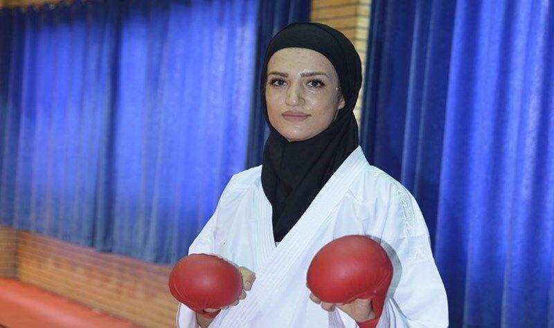 خبرنگاران عضو تیم ملی کاراته: به شکست کرونا و کسب سهمیه المپیک می اندیشم