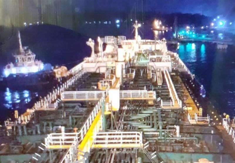 چهارمین نفتکش ایرانی بامداد آدینه در ونزوئلا پهلو گرفت