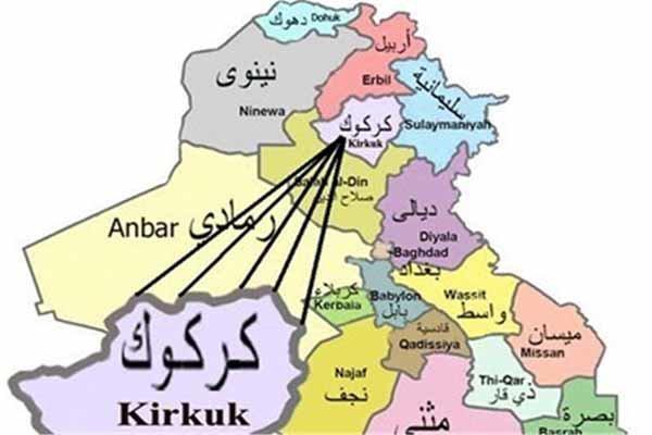 انتقاد نجباء از تصمیم جدید دولت عراق درباره کرکوک