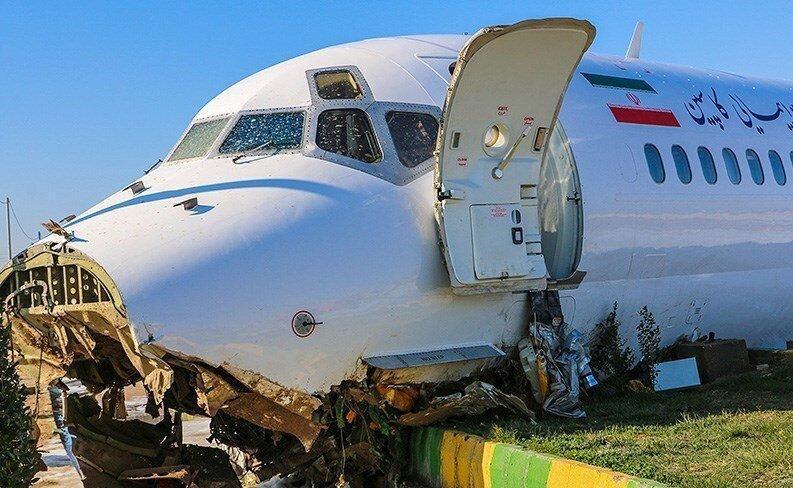 معرفی مقصر سانحه هواپیمای کاسپین ، خلبان پرواز با دستور وزیر راه بازنشسته شد