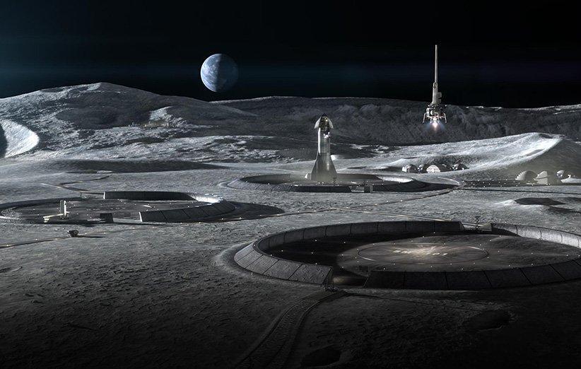 ناسا به دنبال توسعه چاپ سه بعدی زیستگاه های انسانی در ماه و مریخ است