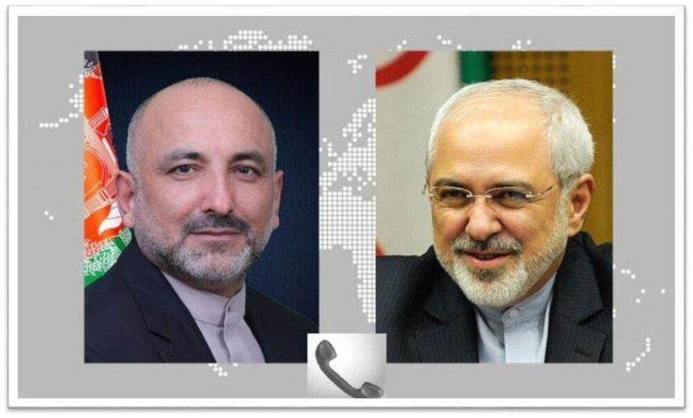 در گفتگوی ظریف با سرپرست وزارت خارجه افغانستان چه گذشت؟