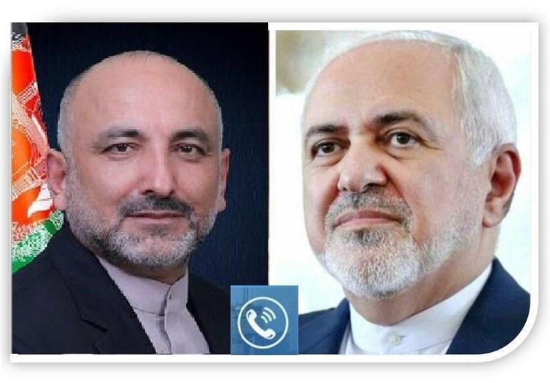 گفتگوی تلفنی ظریف و سرپرست وزارت خارجه افغانستان