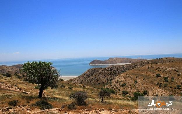 جزیره کبودان؛ بزرگترین جزیره دریاچه ارومیه