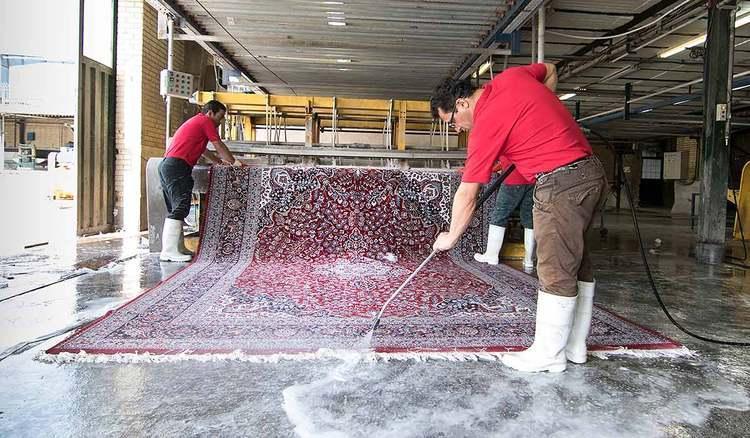 قالیشویی ها در آستانه تعدیل بیشتر نیرو