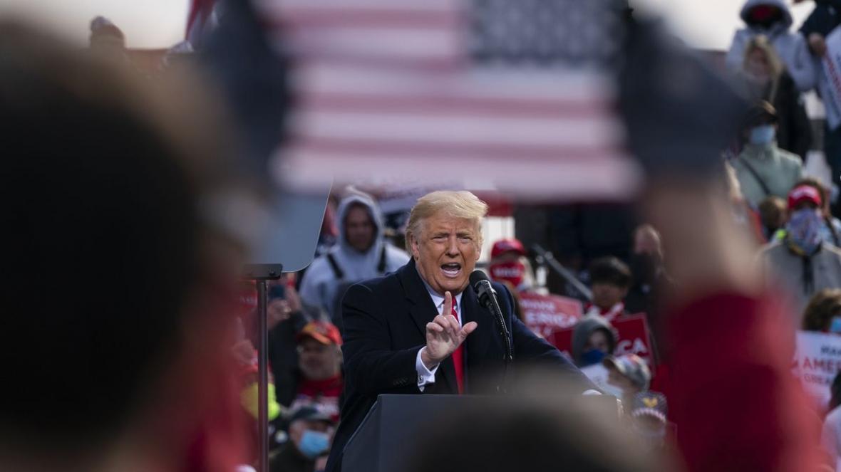 خبرنگاران ترامپ طرح کشاندن نتایج انتخابات به دیوان عالی را افشا کرد