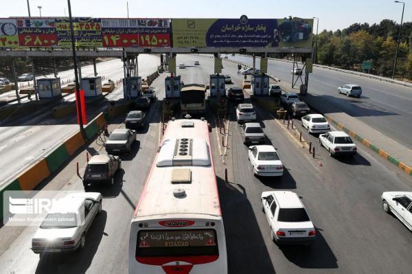 خبرنگاران ترافیک در خروجی های مشهد پُرحجم است