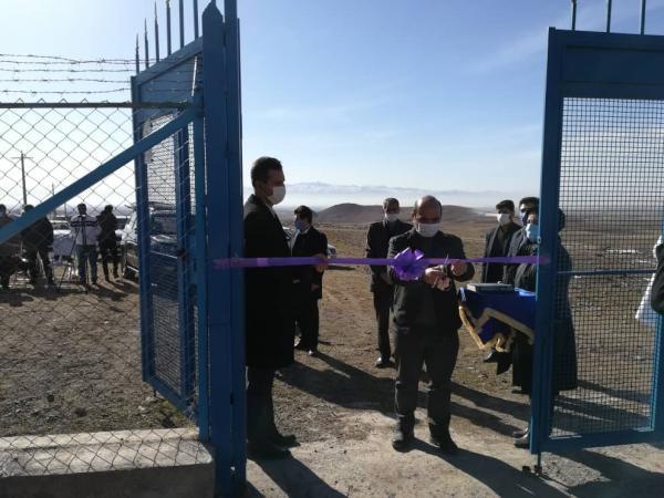 افتتاح 15 طرح آبرسانی روستایی در استان زنجان