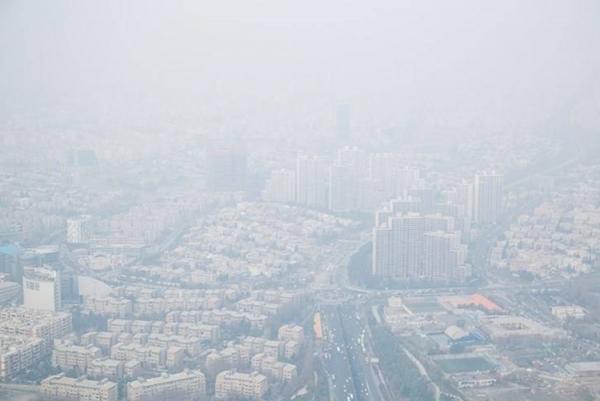 شاخص کیفیت هوای پایتخت امروز 9 بهمن 99؛ هوای تهران ناسالم برای گروه های حساس