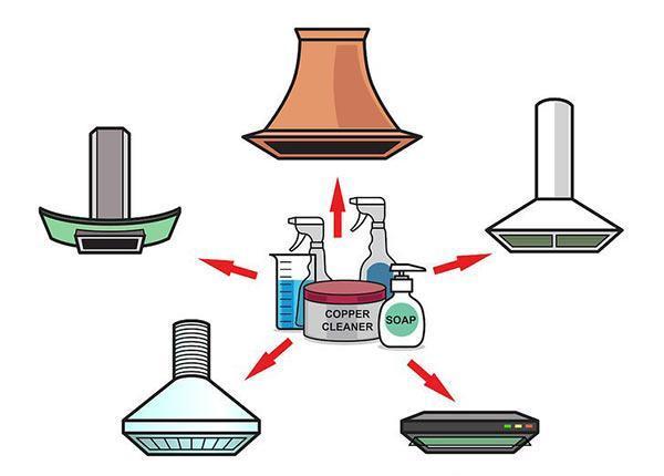 آموزش صحیح تمیز کردن هود آشپزخانه