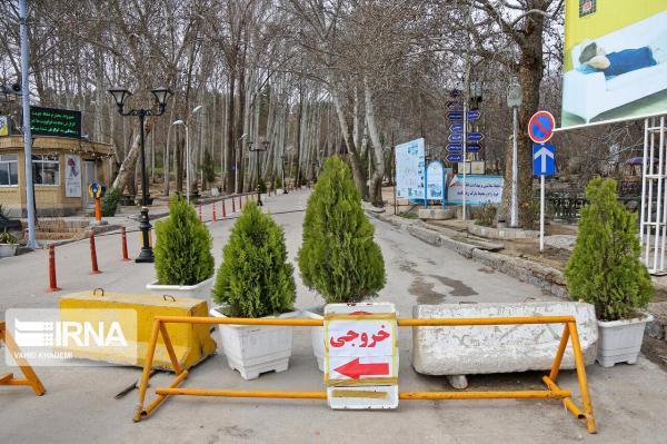 خبرنگاران تفرجگاه ها و بوستانهای شهر قزوین در روز طبیعت مسدود است