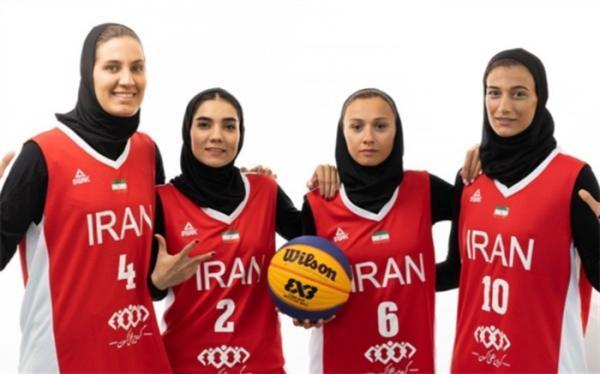 اردونشینان تیم ملی بسکتبال زنان ایران معرفی شدند