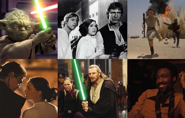 11 فیلم جنگ ستارگان از بهترین تا بدترین