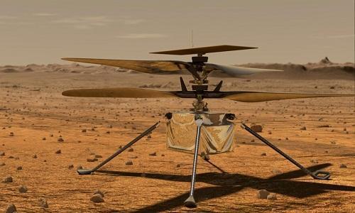 هفتمین پرواز پیروز نبوغ در مریخ
