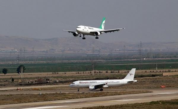 (ویدئو) نقص فنی هواپیمای پرواز تهران-کیش
