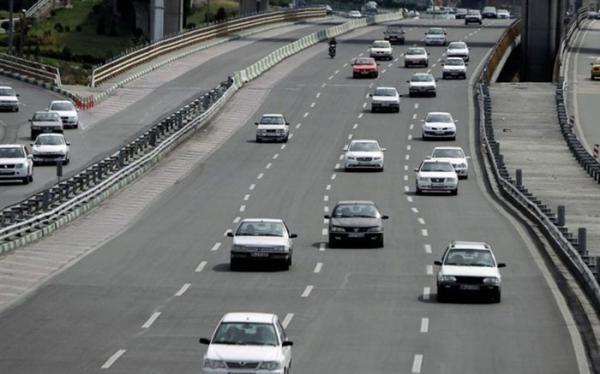 افزایش یک درصدی تردد در محورهای برون شهری