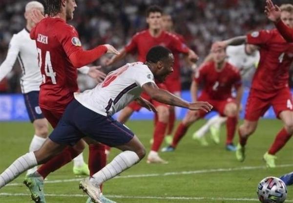 یورو 2020، دلایلی برای بحث برانگیز بودن پنالتی استرلینگ و ناعادلانه بودن قضاوت داور بازی انگلیس ، دانمارک